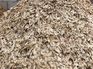 Wood Chips produced by G&G Lumber.